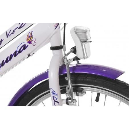 Rower RUNNING BIKE-2, koła różowe