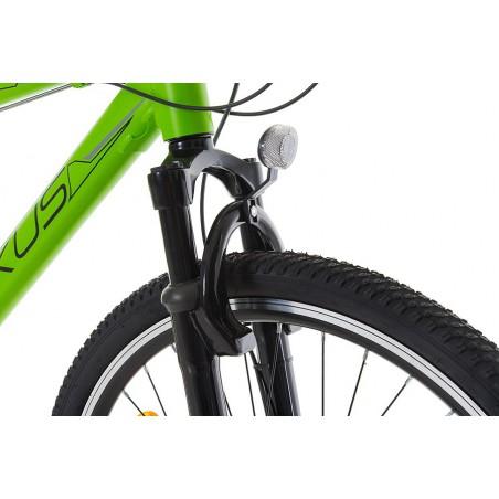 Rower 16 MEXLLER BMX czerwono-czarny + koszyk