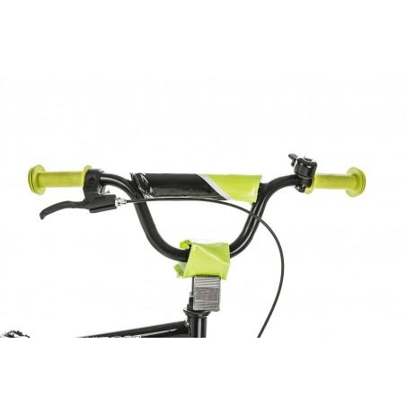 Rower 20 MEXLLER BMX czerwono-czarny + koszyk 2016