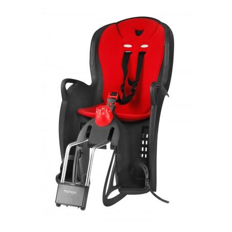 Wspornik kierownicy aluminiowy TDS-RD701-8 100mm czarno-czerwony