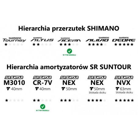 Pedała aluminiowe SHIMANO DEORE XT SPD M8000 czarne+bloki