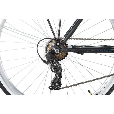 """Rower 28 KROSS TRANS ALP damski DEORE biały 17"""" model 2017"""