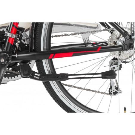 Fotelik rowerowy HAMAX Zenith Relax szary, czarna wyściółka 2017