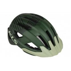 Kask KELLYS DAZE MTB z daszkiem L/XL 58-61cm zielony /military green/