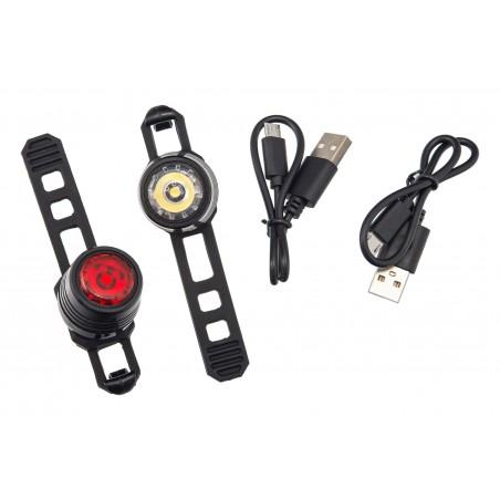Lampa p+t /akumulator/ VLB PICO USB 220mAh czarne