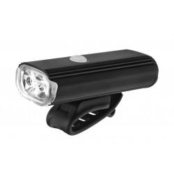 Lampa przednia /akumulator/ VLB GRIX 2x CREE XPG  800lm 4000mAh IPX4 czarna