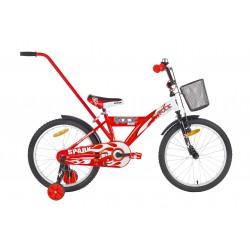 Rower 20 ROCK KIDS SPARAK czerwony