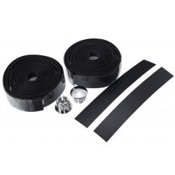 Owijka kierownicy pianka 1850x30mm czarna (korki+tasma)