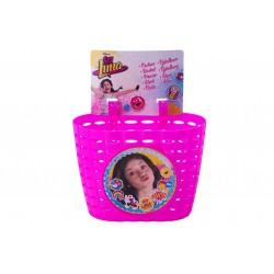 Koszyk na kierownicę dziecięcy plast.DISNEY SOY LUNA