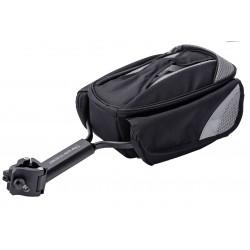Sawka kufer na bagażnik ROMET do sztycy 4,5L wodoodporny 27x22x17cm 570g czany /SHE-08/