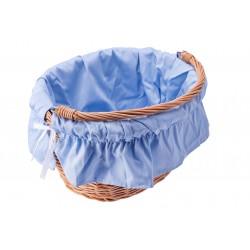 Wkładka do koszyka materiałowa TEX niebieska