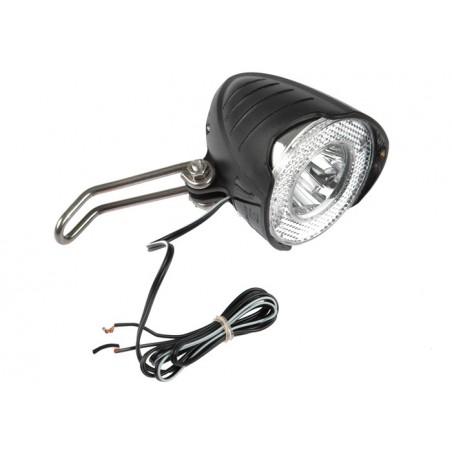 Lampa przednia X-LIGHT dynamo 1W LED 15 LUX z podtrzmaniem XC-110C