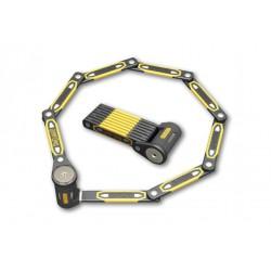 Zamknięcie ONGUARD Heavy Duty Link Plate Lock K9 SKŁADANE 8114 - 112,5cm - 5 x Klucze z kodem