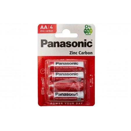 Bateria R6 AA Panasonic 4sz. blister