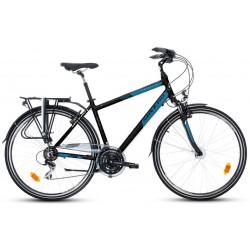 """Rower 28 SAVENO ODYSSEY GTS M trekk. Acera czarno-niebieski 21"""""""
