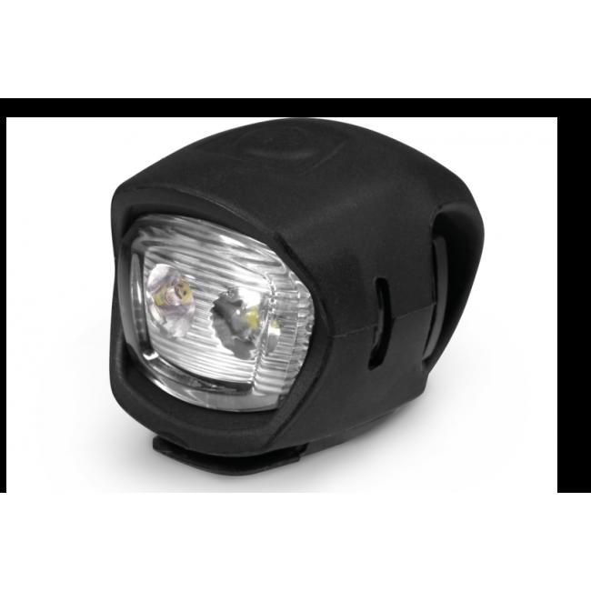 Lampa p+t /bateryjna/ KROSS EASY SET, gumowe czarne