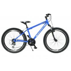 Rower 24 KANDS LEOPARDO Acera niebiesko-biały poł.