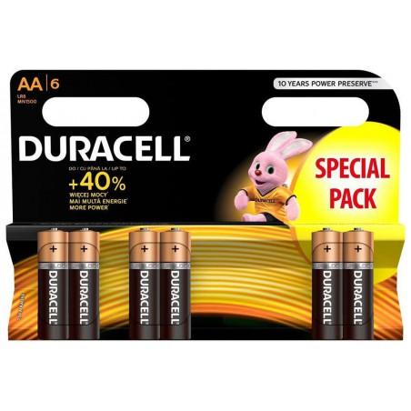 Bateria LR6 DURACELL AA Alkaline /blister 6szt/