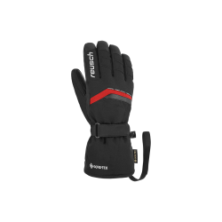 Rękawice REUSCH MANNI GTX 9 czarne z czerwoną wstawką