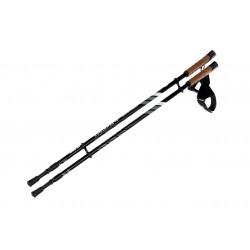Kije Nordic walking HI-TEC ALPENSTOCK 85-135mm czarno-szare