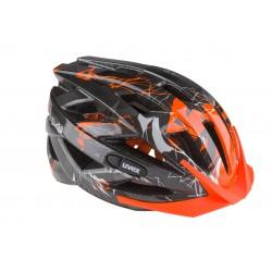 Kask UVEX I-VO c - czarno-pomarańczowy połysk  L 55-60cm