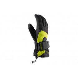 Rękawice VIKING SNOWBOARD TREX 6 czarno-limonkowe