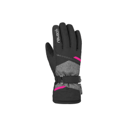 Rękawice Reusch Hannah R-TEX XT 6,5 czarne z różową wstawką