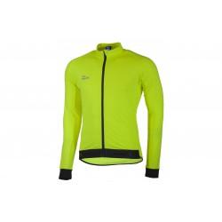 Bluza ROGELLI TREVISO 2.0 lekko ocieplana L neonowy żółty