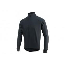 Koszulka ROGELLI ALL SEASONS kolarska wodo i wiatroszczelna dł. rękaw softshell i DWR M czarna