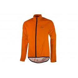 Kurtka ROGELLI TELLICO rowerowa przeciwdeszczowa L pomarańczowa fluor