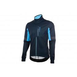 Kurtka ROGELLI TRANSITION rowerowa ultralekka bez ocieplenia 2XL niebieska