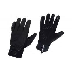 Rękawiczki ROGELLI STORM zimowe cieńsze żelowe M czarne