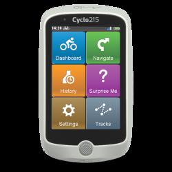 Nawigacja rowerowa MIO CYCLO 215 HC + komplet czujników ANT+ + mapy EU38