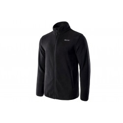 Bluza polar Hi-TEC ZOE męski full zip, czarny L