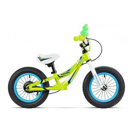 Rowerek biegowy MONTERIA zielony