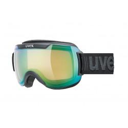 GOGLE UVEX DOWNHILL 2000 V black dl/green / czarne z zieloną szybą