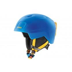 Kask UVEX HEYYA PRO blue-yellow mat 51-55 niebiesko- żółty mat