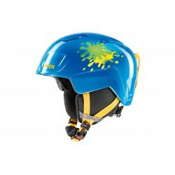 Kask UVEX HEYYA blue splash 51-55 niebieski