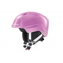 Kask UVEX HEYYA pink confetti 46-50 różowy