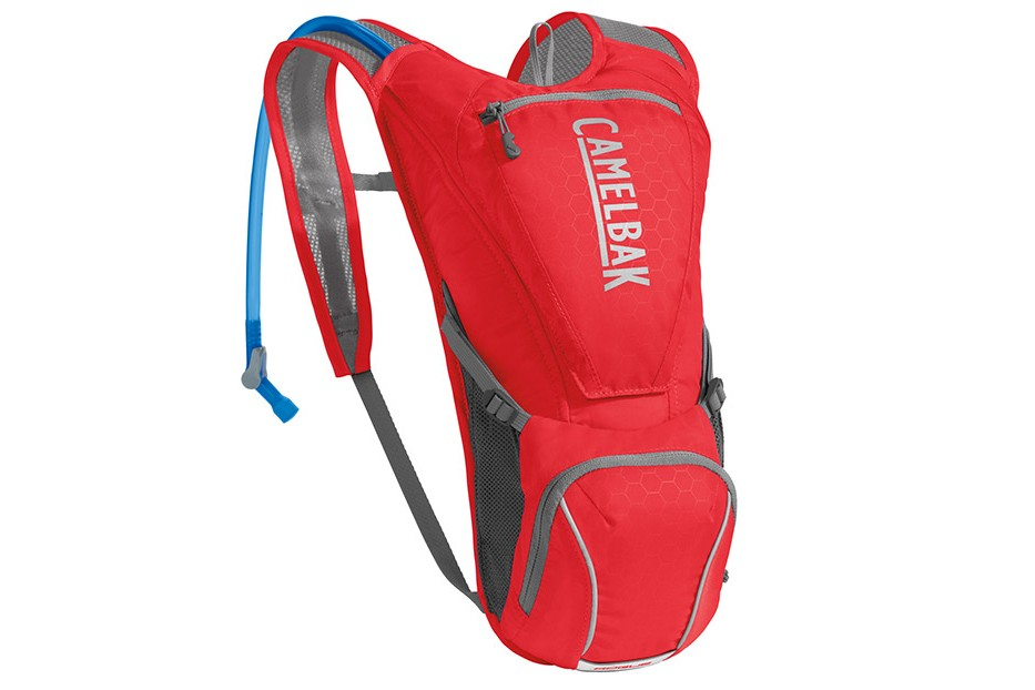 Plecak CAMELBAK Rogue 5L + bukłak CRUX 2,5L czerwony