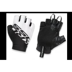 Rękawiczki KROSS Race Short 2.0 czarno-białe XL