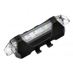 Lampa przednia /akumulator/ BC-TL5411 USB 5LED, czarna