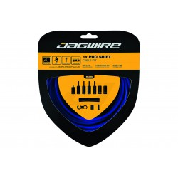 Linka przerzutki z pancerzami JAGWIRE PRO SHIFT x1szt linka nierdzewna/ szosa/MTB niebieski
