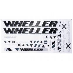 Naklejka KR4 - WHELLER  expedition czarno-graf