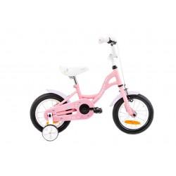 Rower 12 ROMET TOLA różowo-biały 2021