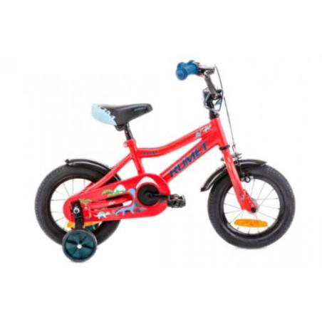 Rower 12 ROMET TOM czerwono-niebieski 2021
