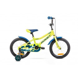 Rower 16 ROMET TOM zielono-niebieski 2021