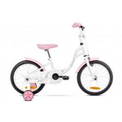 Rower 16 ROMET TOLA biało-turkusowy 2021
