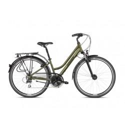 """Rower 28 KROSS TRANS 3.0 damski L khaki-czar mat 19"""" 2021"""