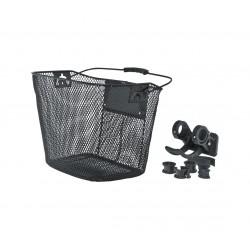 Koszyk na kierownicę siatka na KLIP, czarny KELLYS CARGO 31,8/25,4/22,2mm
